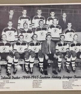 Long Island Ducks 1964-65 Team Photo