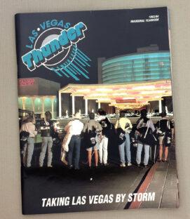 Las Vegas Thunder Inaugural Season Program