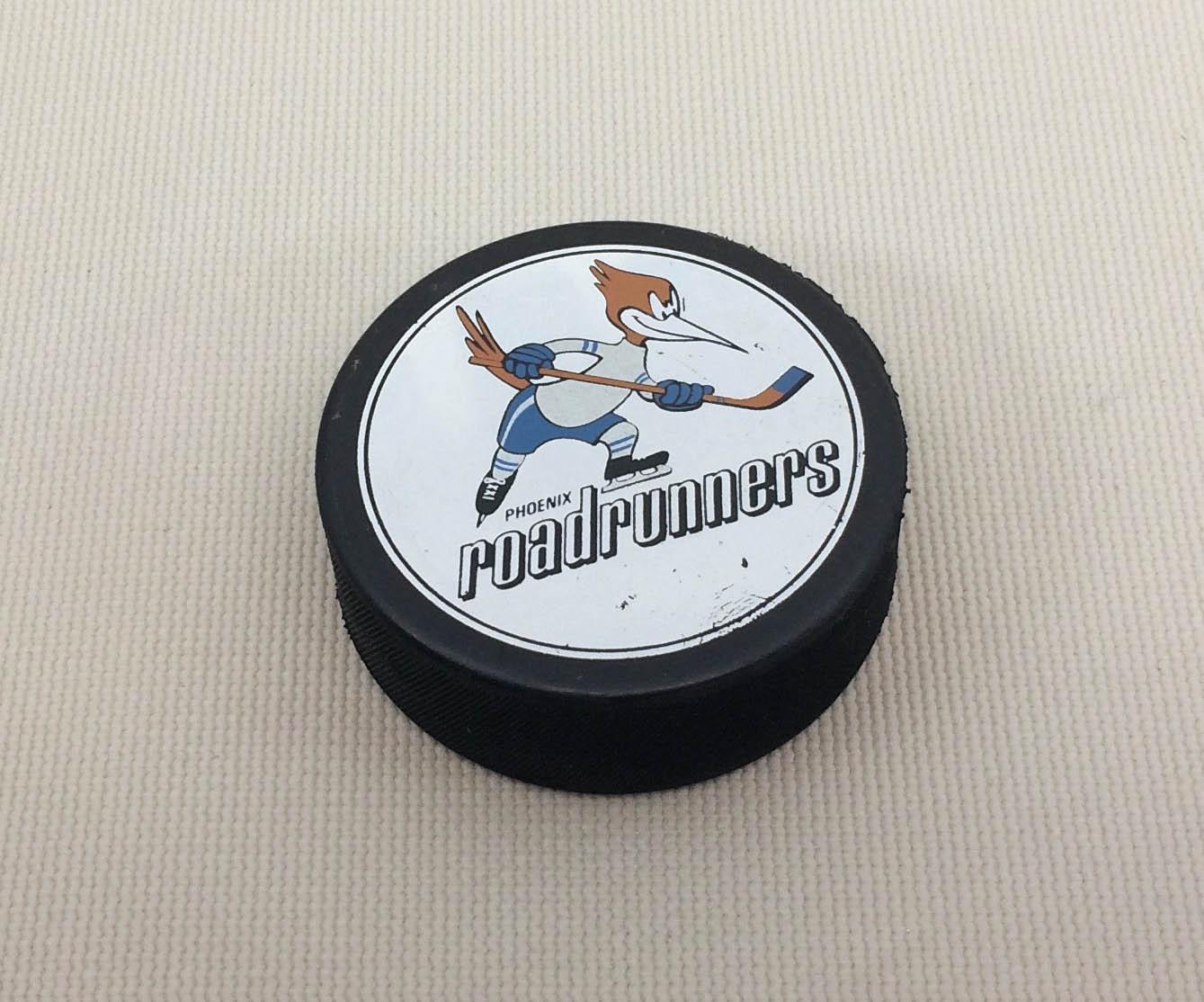 Phoenix Roadrunners IHL Hockey Puck