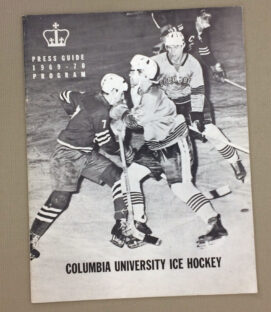 Columbia University Hockey 1969-70 Program