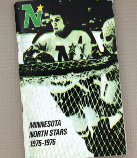 1975-76 Minnesota North Stars Media Guide