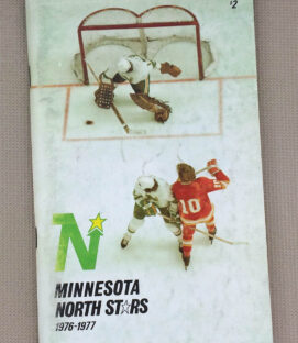 1976-77 Minnesota North Stars Media Guide