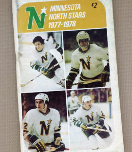 1977-78 Minnesota North Stars Media Guide