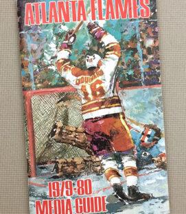 Atlanta Flames 1979-80 Media Guide