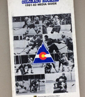 1981-82 Colorado Rockies Media Guide