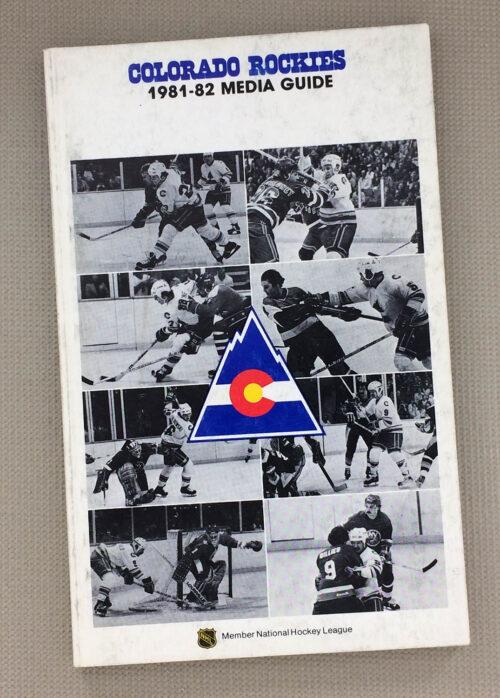1981-82 Colorado Rockies Media Guide