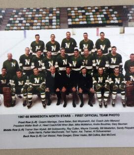Minnesota North Stars 1967-68 Team Photo Print