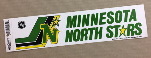 Minnesota North Stars Bumper Sticker