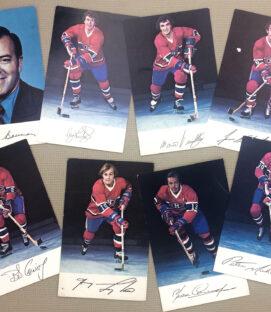 Montreal Canadiens 1975-76 Postcard Set