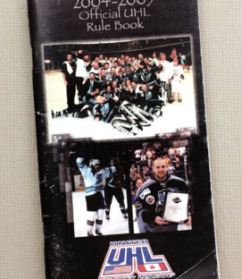 United Hockey League 2004-05 Official Rule Book