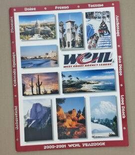 West Coast Hockey League 2000-01 Yearbook