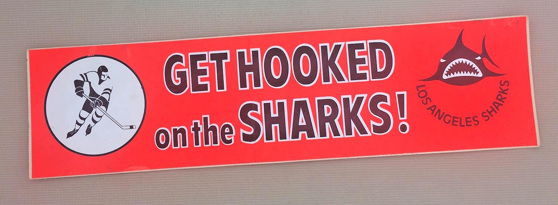 Get Hooked on the LA Sharks Bumper Sticker