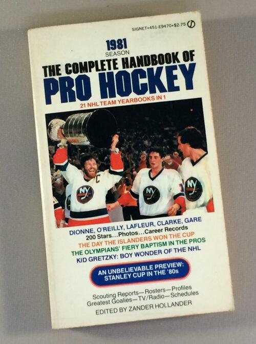 Complete Handbook of Pro Hockey 1981