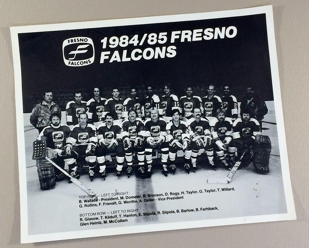 Fresno Falcons 1984 Team Photo