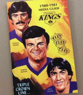 Los Angeles Kings 1980-81 Media Guide