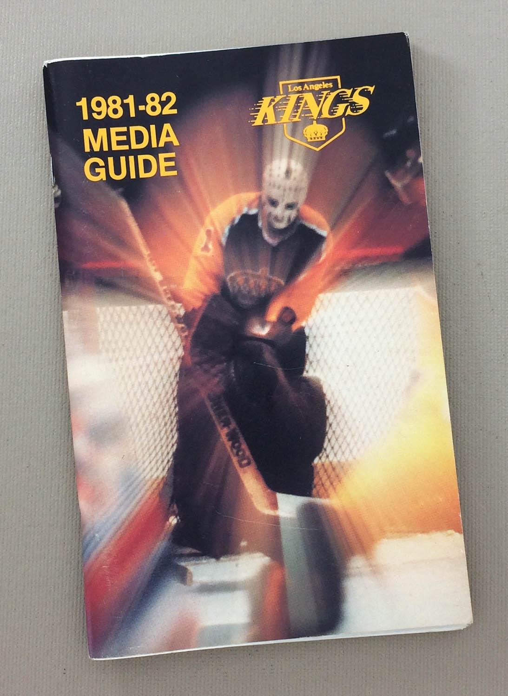Los Angeles Kings 1981-82 Media Guide
