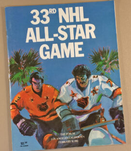 NHL All Star Game 1981 Program