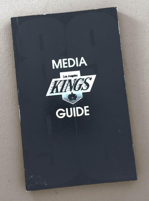 Los Angeles Kings 1989-90 Media Guide