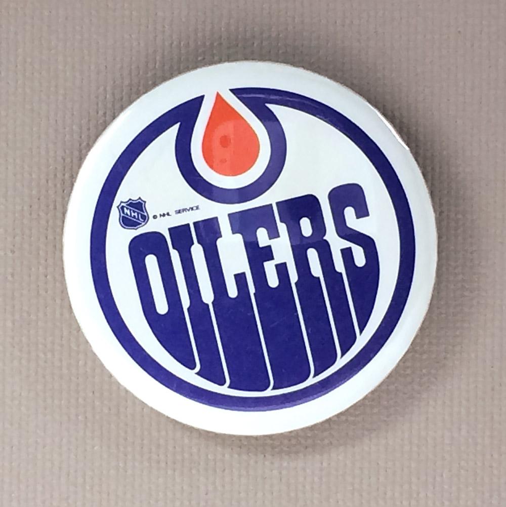 Edmonton Oilers Mini Button