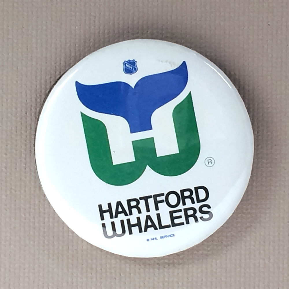Hartford Whalers Mini Button