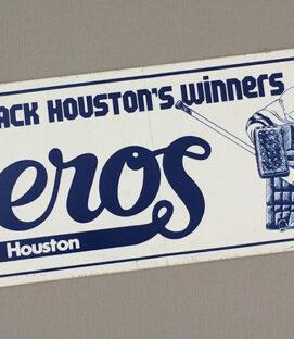 Houston Aeros Bumper Sticker