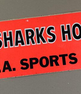 Los Angeles Sharks Bumper Sticker