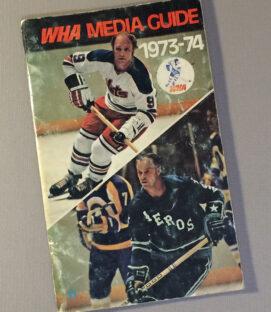 World Hockey Association (WHA) 1973 Media Guide