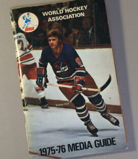 World Hockey Association (WHA) 1975 Media Guide