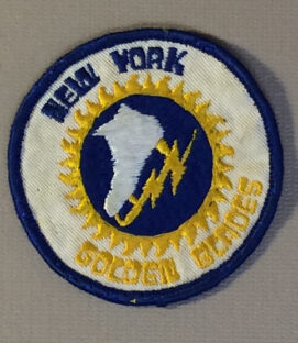 New York Golden Blades Team Patch