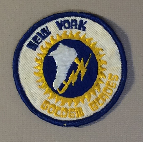 New York Golden Blades Team Patch