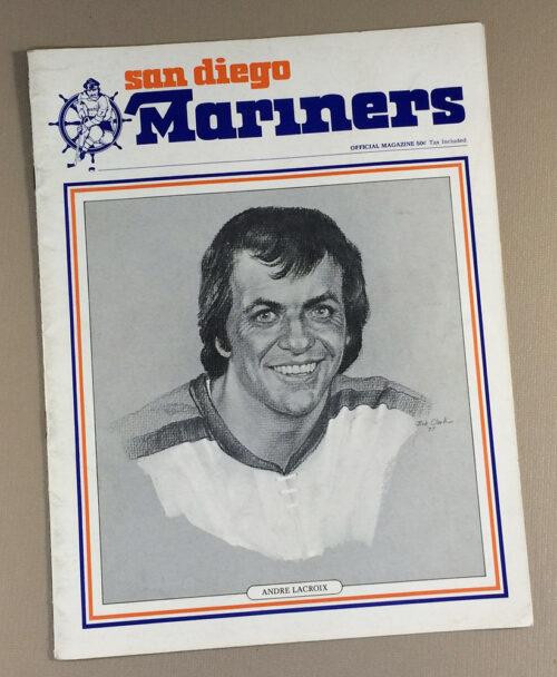 San Diego Mariners 1977 Game Program 2