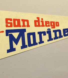 San Diego Mariners Team Pennant