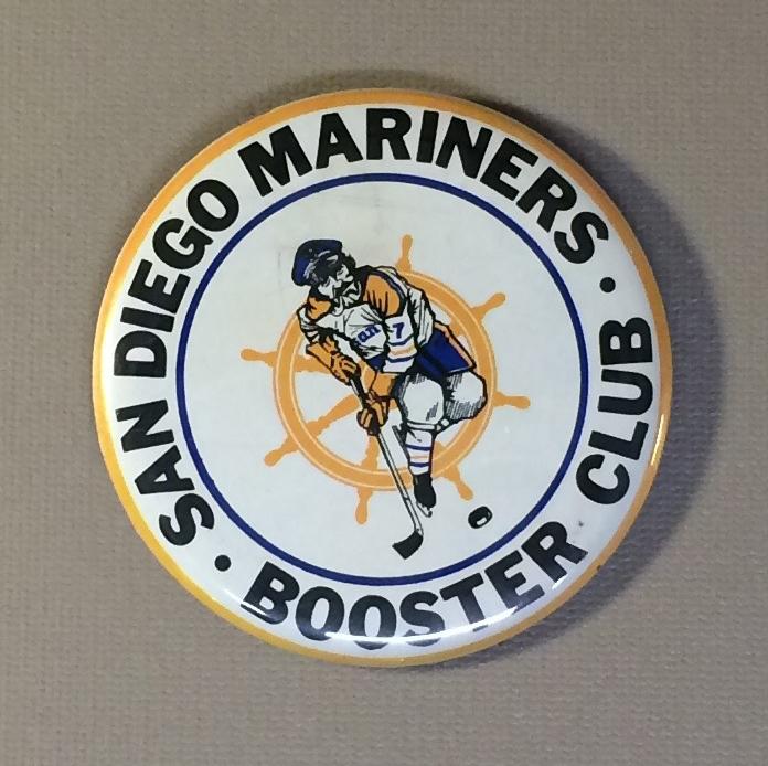 San Diego Mariners Team Button