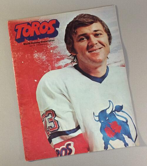 Toronto Toros 1975 Game Program