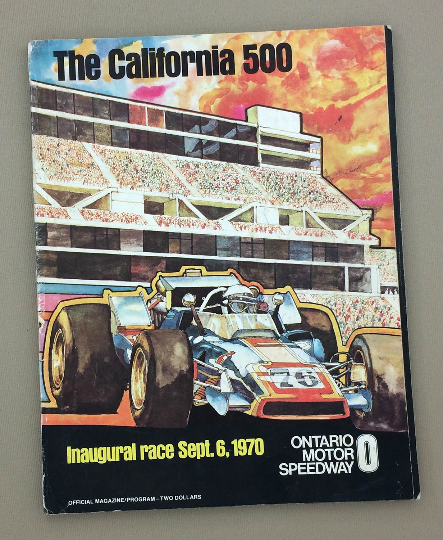Inaugural 1970 California 500 Program