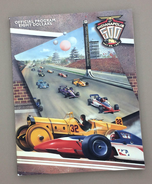 Indianapolis 500 1997 program