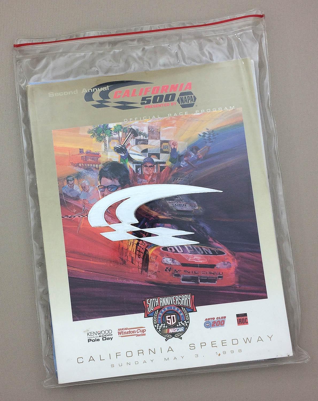 1998 California 500 Program set