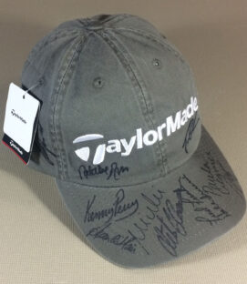 Autographed Taylor Made Cap