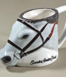 Santa Anita Horse Head Collectors Mug