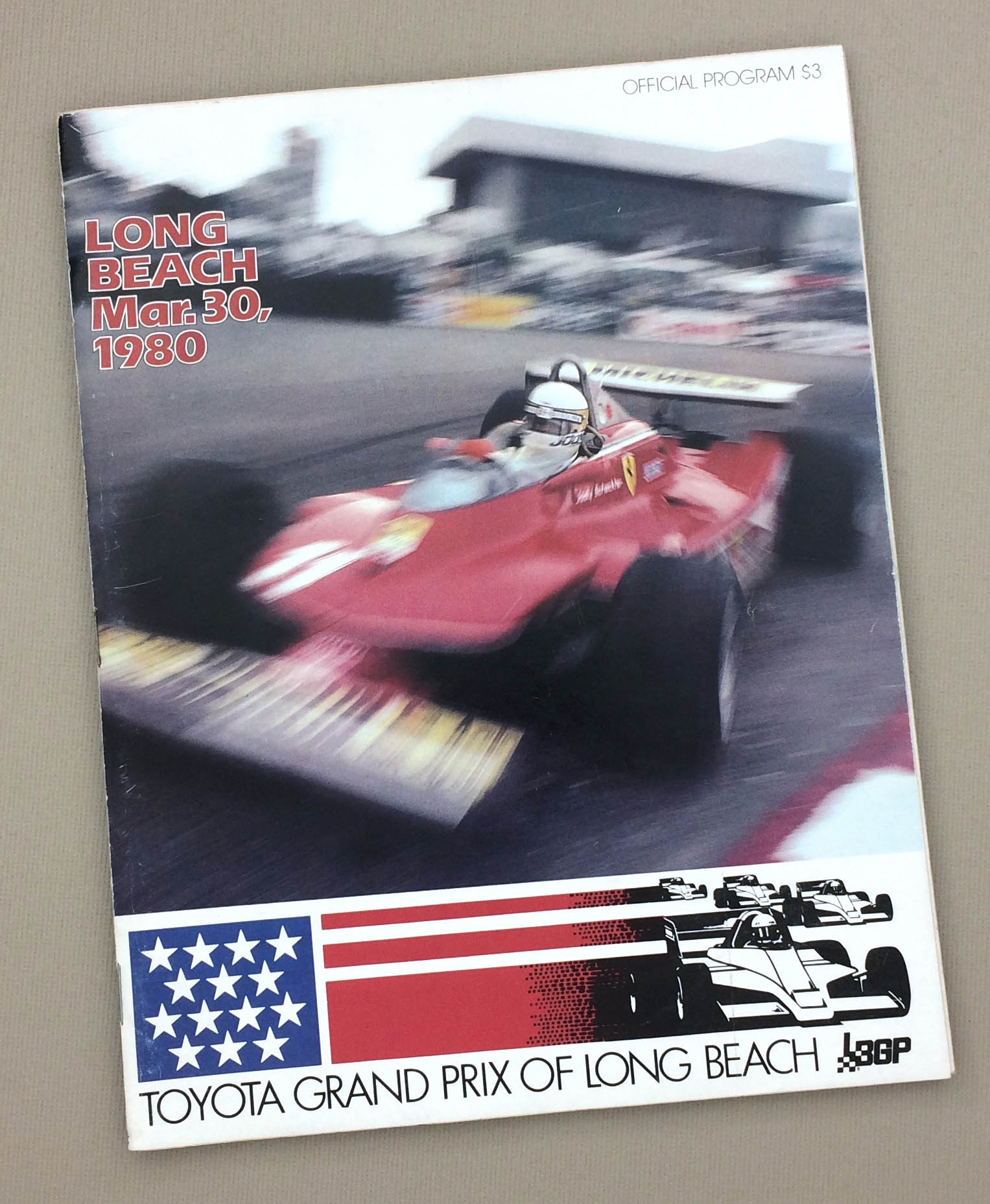 Long Beach Grand Prix 1980 Program