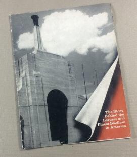 Los Angeles Coliseum 1952 Brochure