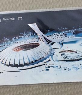 Montreal '76 Olympics Stadium Postcard