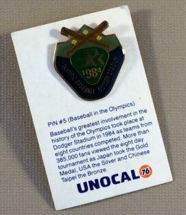 1984 Olympic Baseball at Dodger Stadium Commemorative Pin