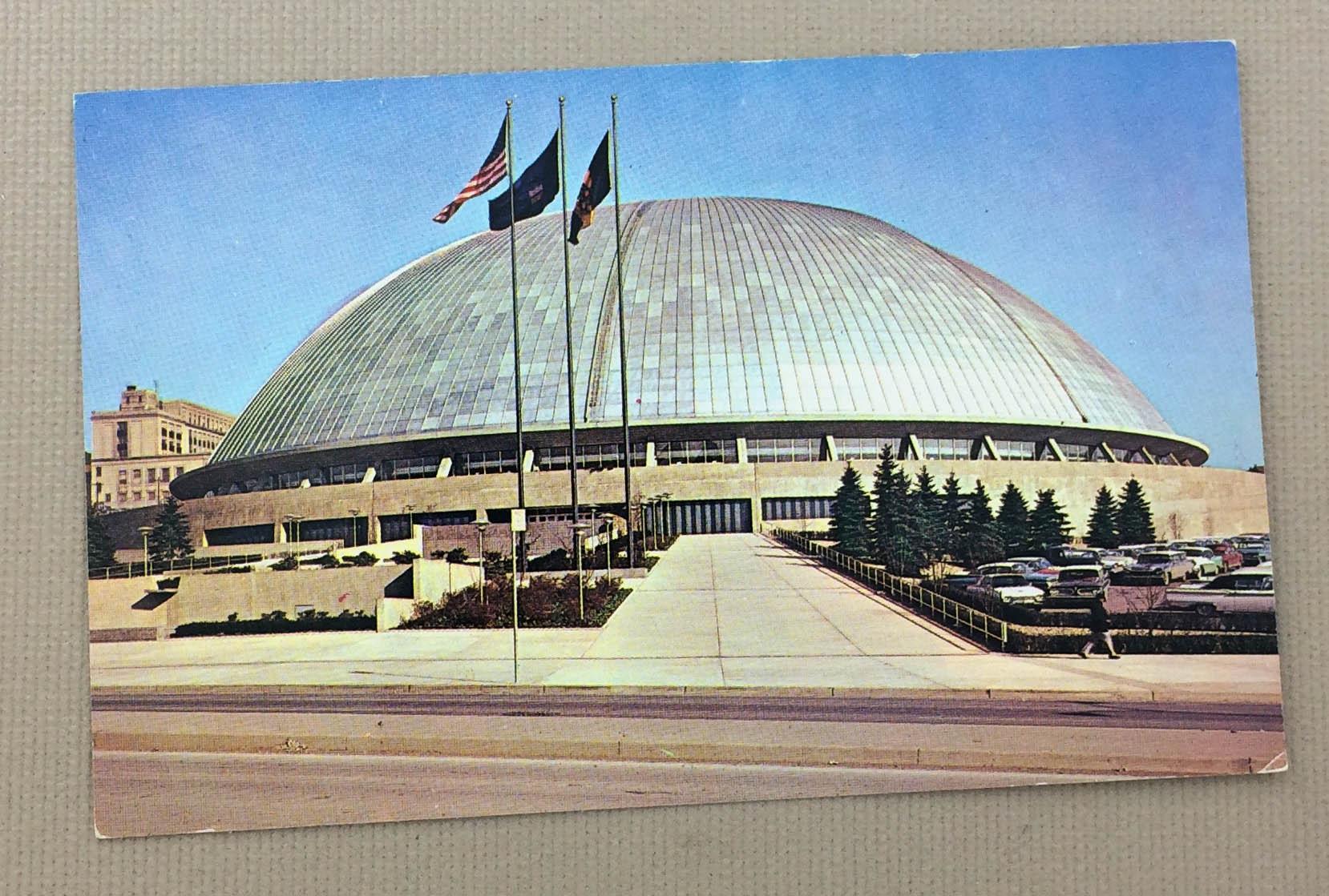 Pittsburgh Civic Arena Postcard