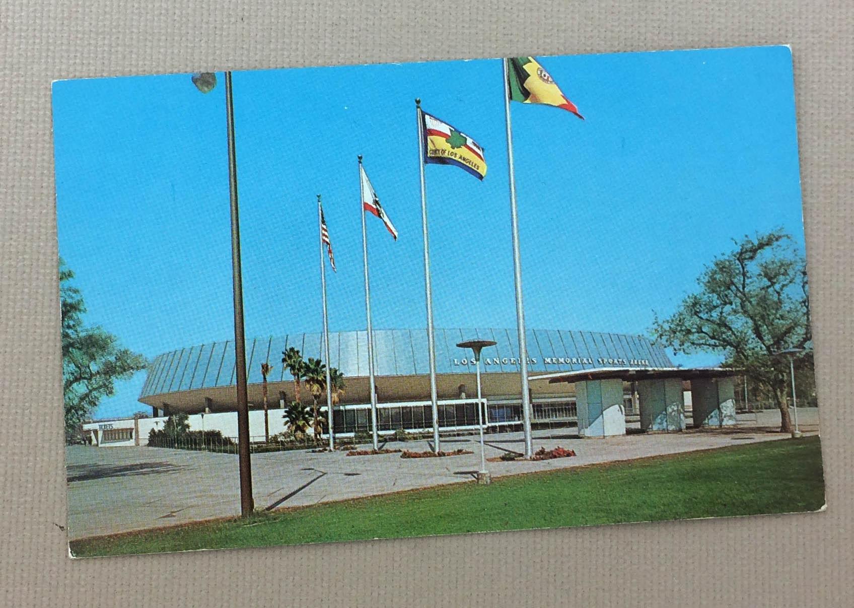 Los Angeles Sports Arena Postcard