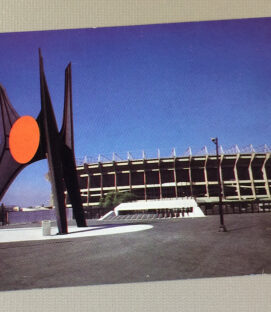 Postcard of Estadio Azteca