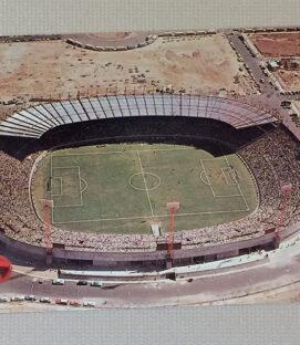 Vintage Estadio Jalisco Postcard