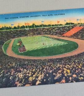 Vintage Postcard Stanford Stadium