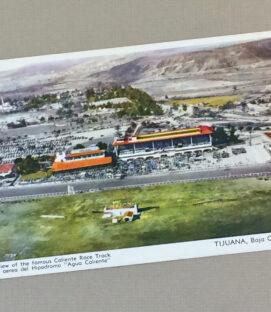 Hipodromo Tijuana Vintage Postcard
