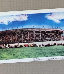 Bull Ring Tijuana Vintage Postcard